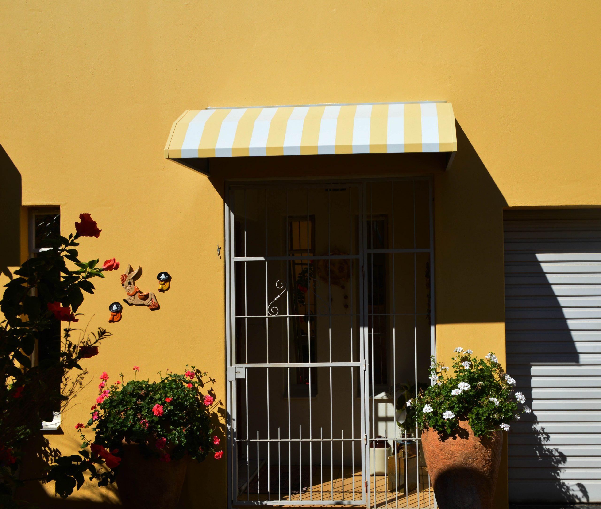Yellow Door Awning